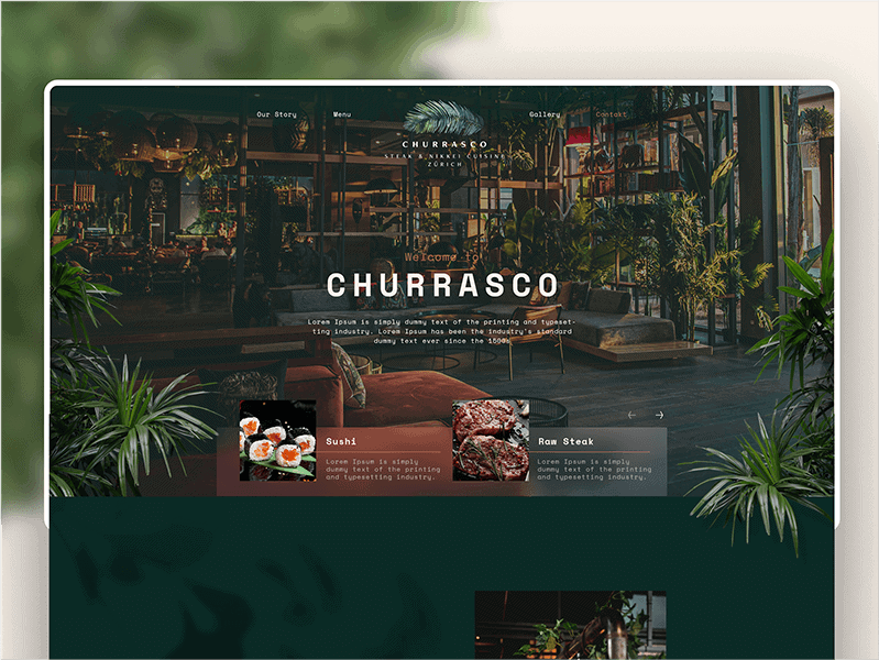 MOLINOTEQ - Churrasco Referenz Homepage